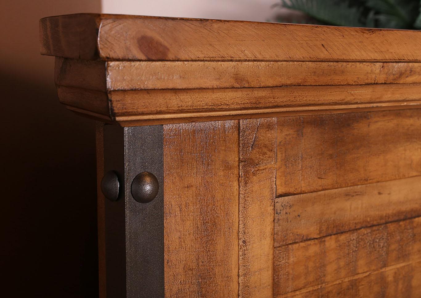 Urban Rustic California King Bed Mattress Furniture For Less