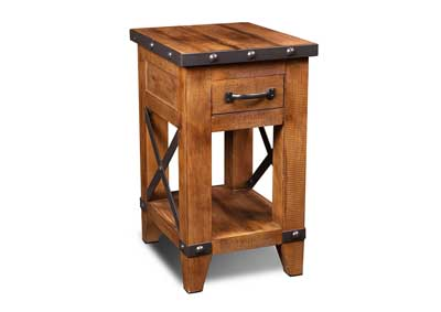 Image for Urban Rustic Side Table