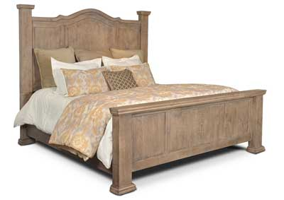 Image for Grand Rustic California King Bed