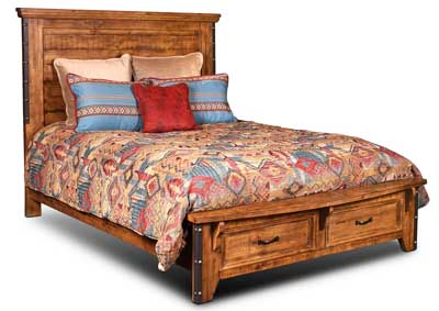 Image for Urban Rustic California King Bed