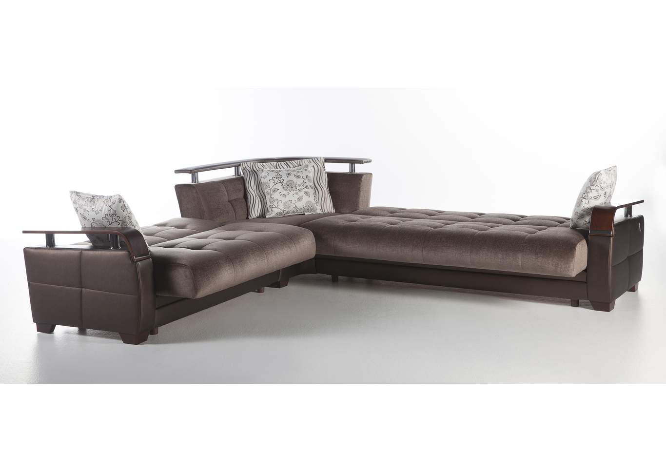 Natural Prestige Brown Sectional,Hudson Furniture & Bedding