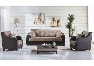 Image for Ultra Lilyum Vizon Sofa w/2 Chairs