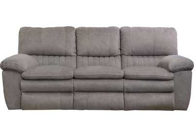 Image for Graphite Lay Flat Reclining Sofa