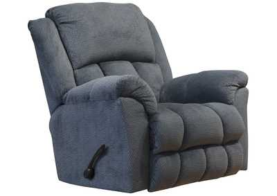 Image for Clairmont Charcoal Rocker Recliner w/Deluxe Heat & Massage