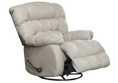 Image for Pendleton Alabaster Chaise Swivel Glider Recliner
