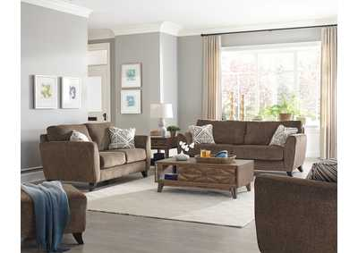 Image for Alyssa Latte Sofa and Loveseat