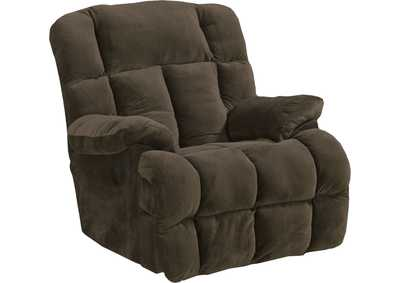 "Image for Chocolate Power Chaise Reclining w/""Lay Flat"" Feature"