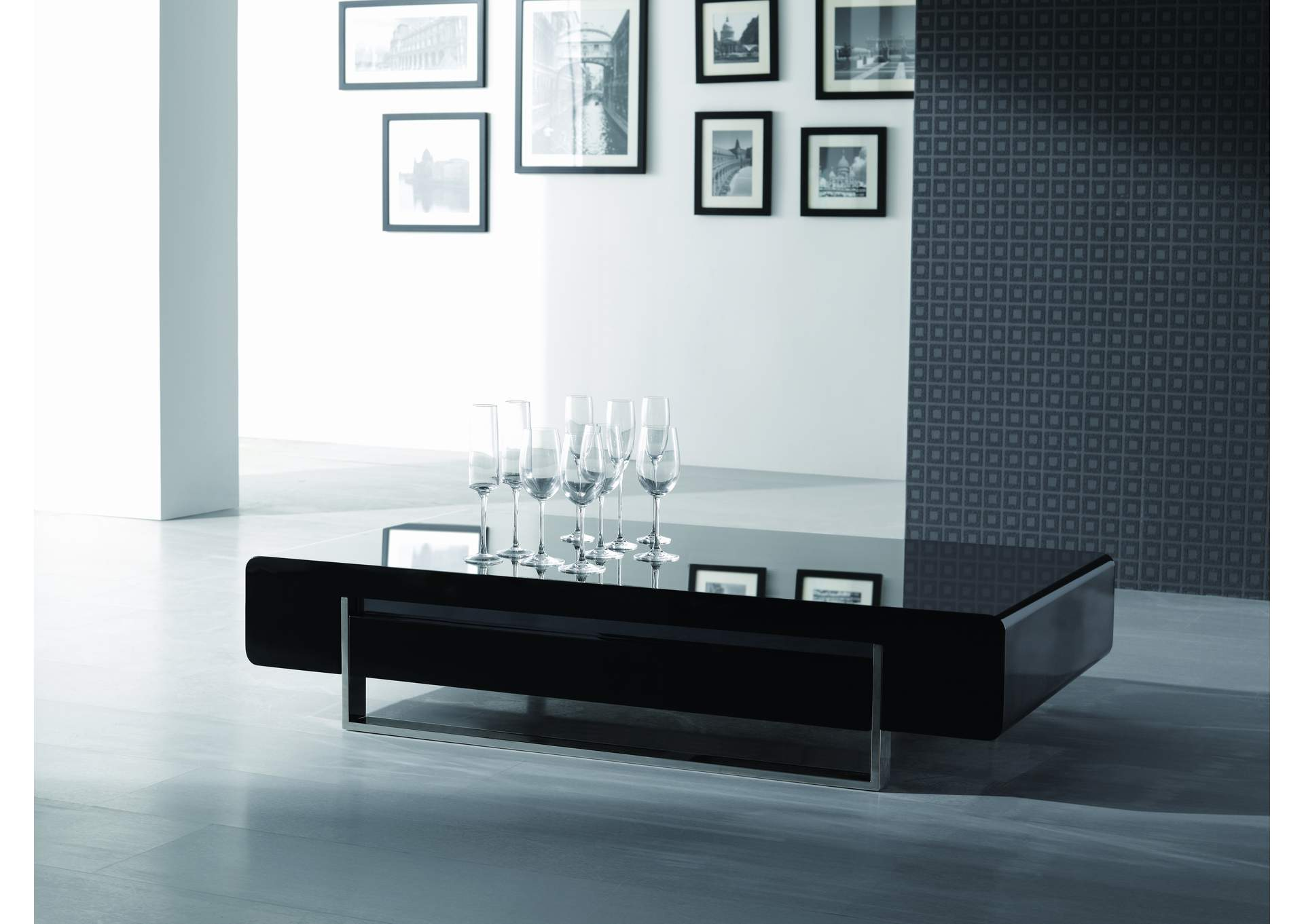 Modern Coffee Table 902A in Dark Oak,J&M Furniture