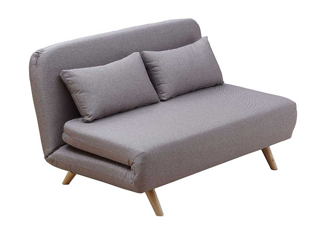 Premium Sofa Bed JK037-2 in Beige Fabric,J&M Furniture