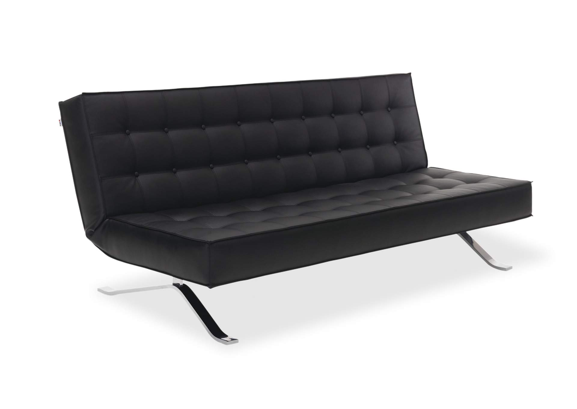 Premium Sofa Bed JK044-3 in Black Leatherette,J&M Furniture
