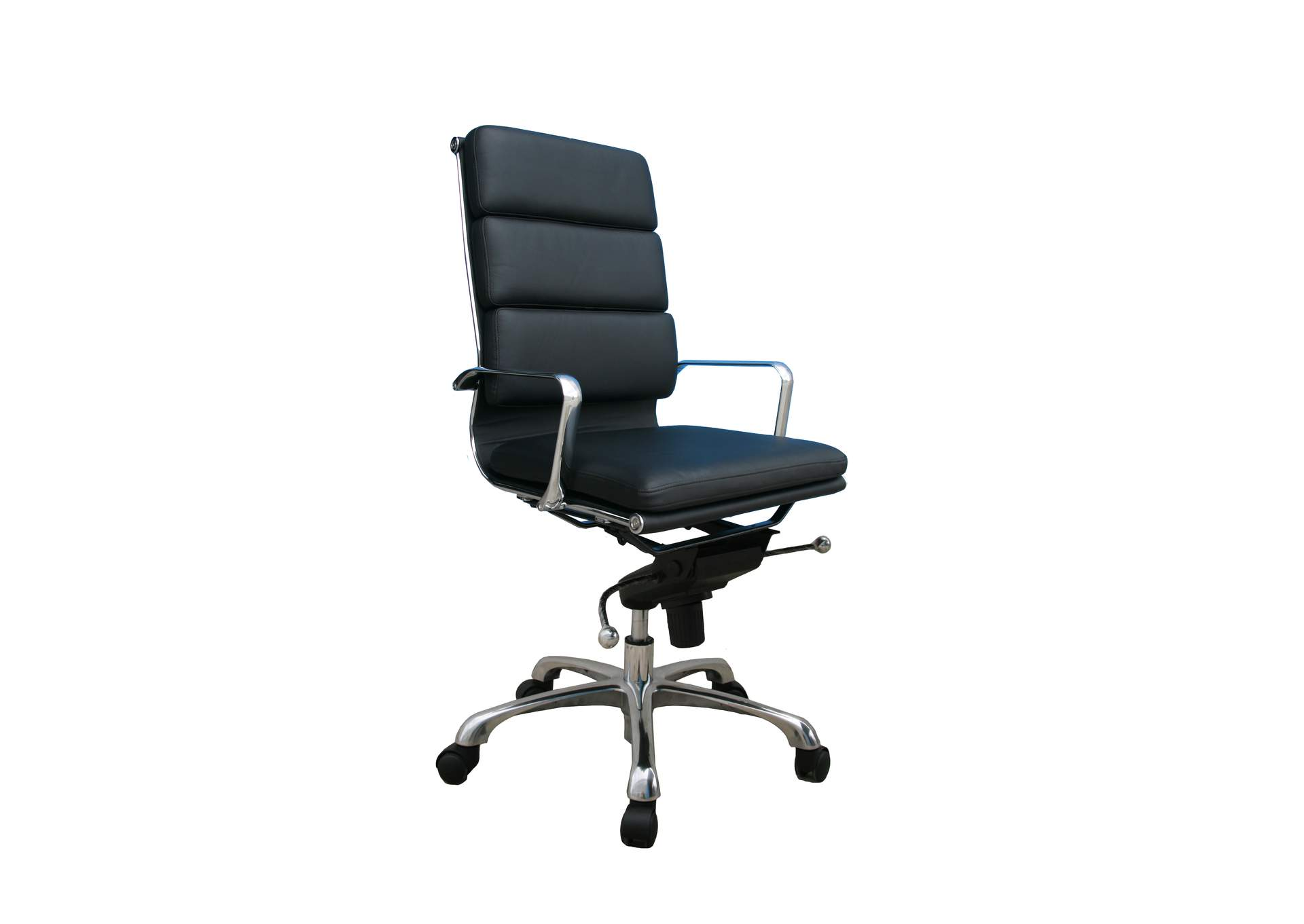 Plush Black High Back Office Chair Best Buy Furniture And Mattress