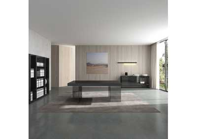 Image for Cloud Wall Unit in Grey High Gloss
