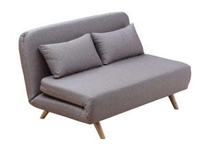 Premium Sofa Bed JK037-2 in Beige Fabric
