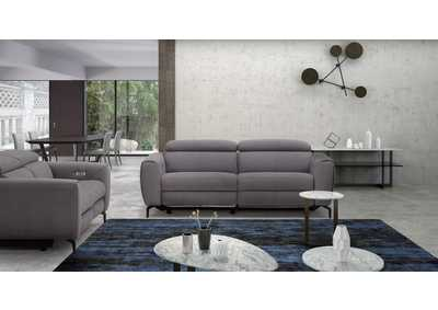 Image for Grey Lorenzo 3 Piece Fabric Sofa Set