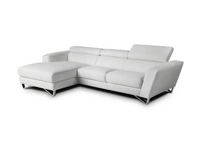 Image for Sparta Mini Left Hand Facing Chaise in White