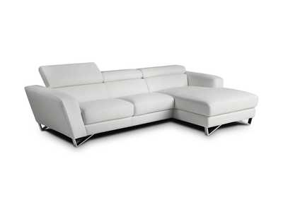 Image for Sparta Mini Right Hand Facing Chaise in White