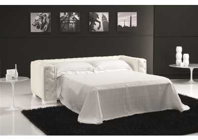 Image for Vanity Sofa Bed in White