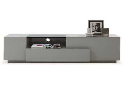 TV Stand 015 in Grey High Gloss