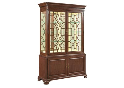 Image for Hadleigh Classic Cherry China Cabinet