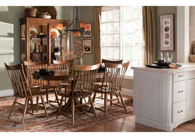 Image for Cherry Park Natural Cherry China Cabinet