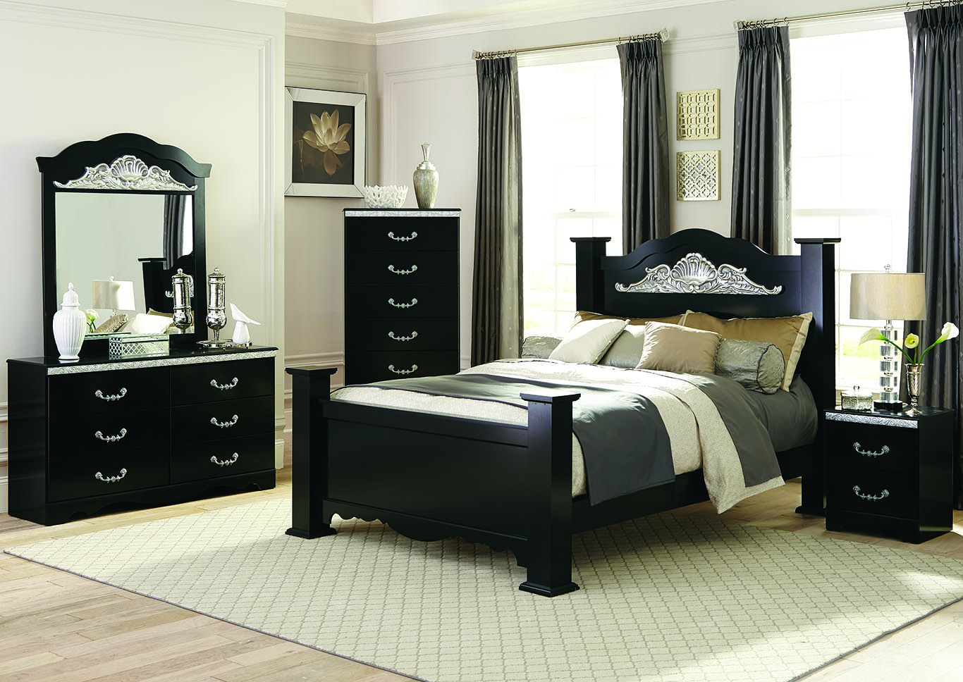 Coosa King Poster Bed,Kith