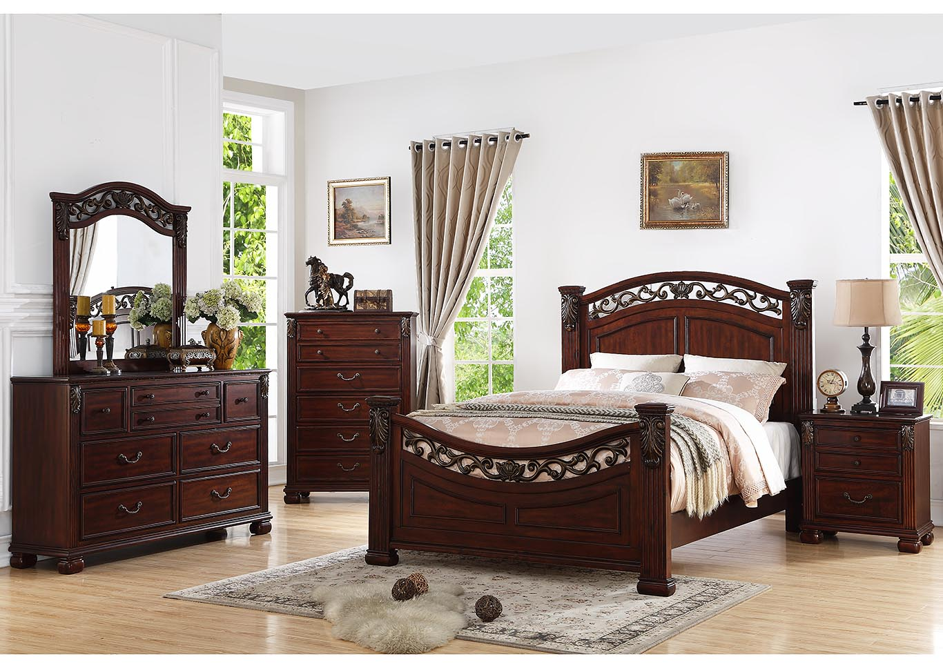 Tourneau Queen Bed,Kith