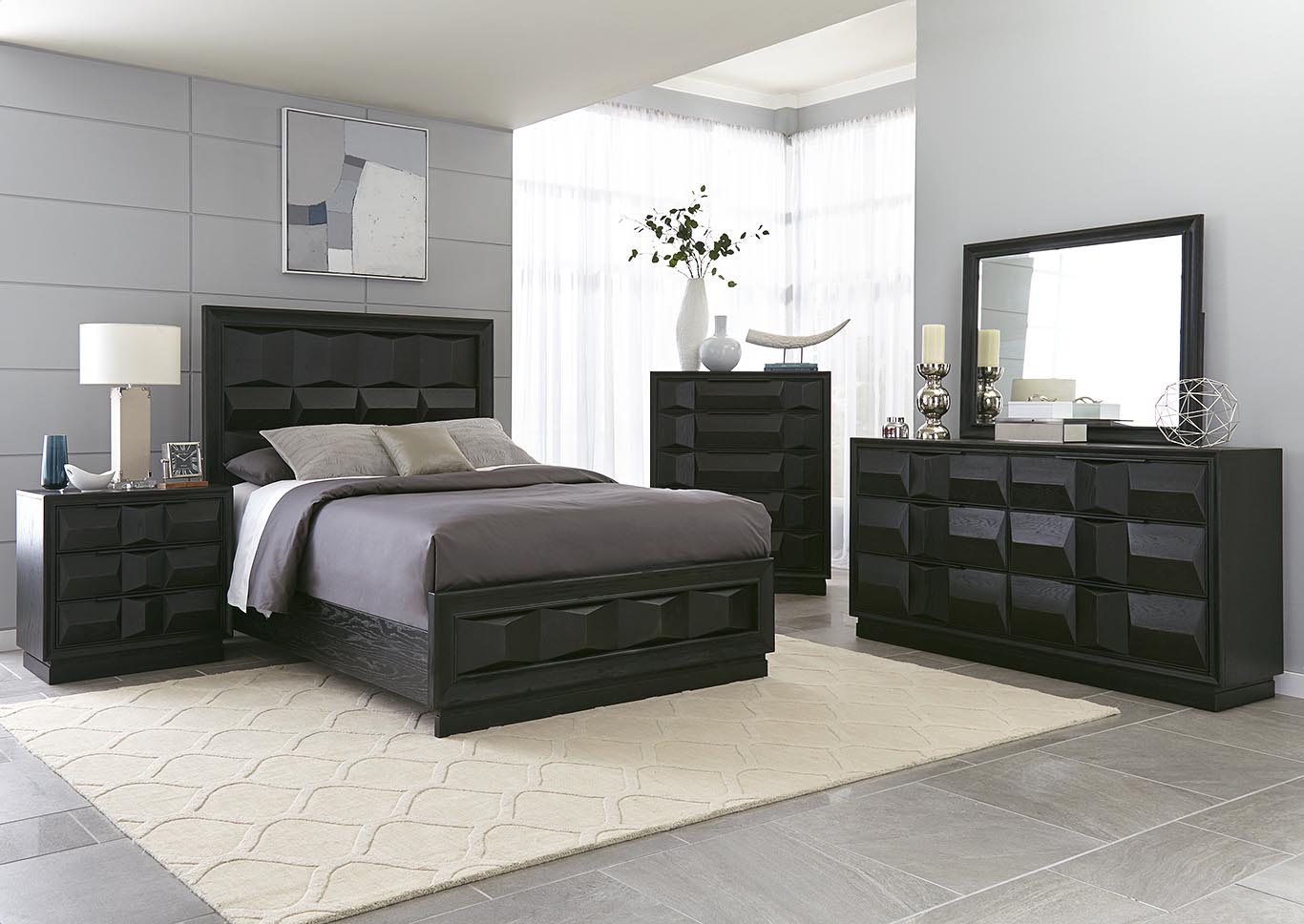Matrix Queen Panel Bed,Kith
