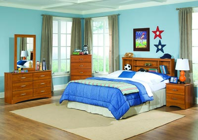 Image for Tanner Twin Bookcase Headboard