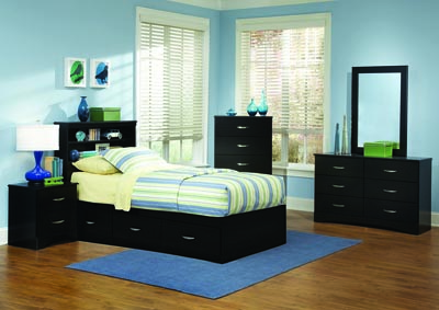 Image for Jacob 3 Drawer Mates Bed
