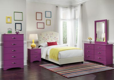 Image for Raspberry 5 Drawer Chest