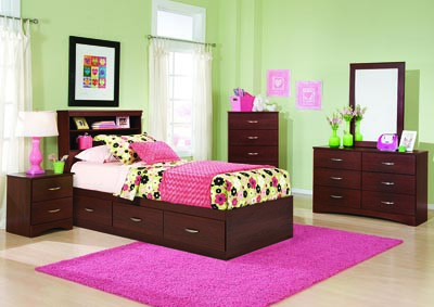 Image for Briar Full/Queen Bookcase Headboard
