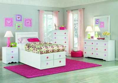 Savannah Twin Storage Bed