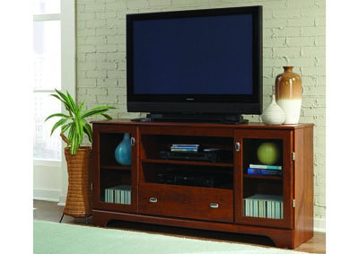"60"" Persimmon Entertainment Console"