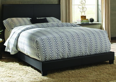 Image for Ramon King Black PU Bed In One Box