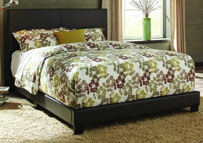 Image for Ramon King Brown PU Bed In One Box