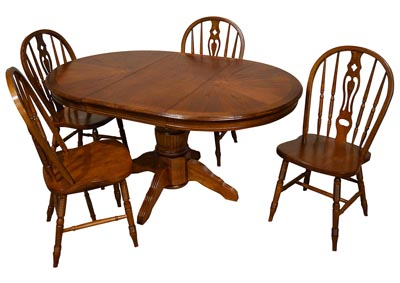 "Image for Marion County Chocolate 42"" Round Dining Table"