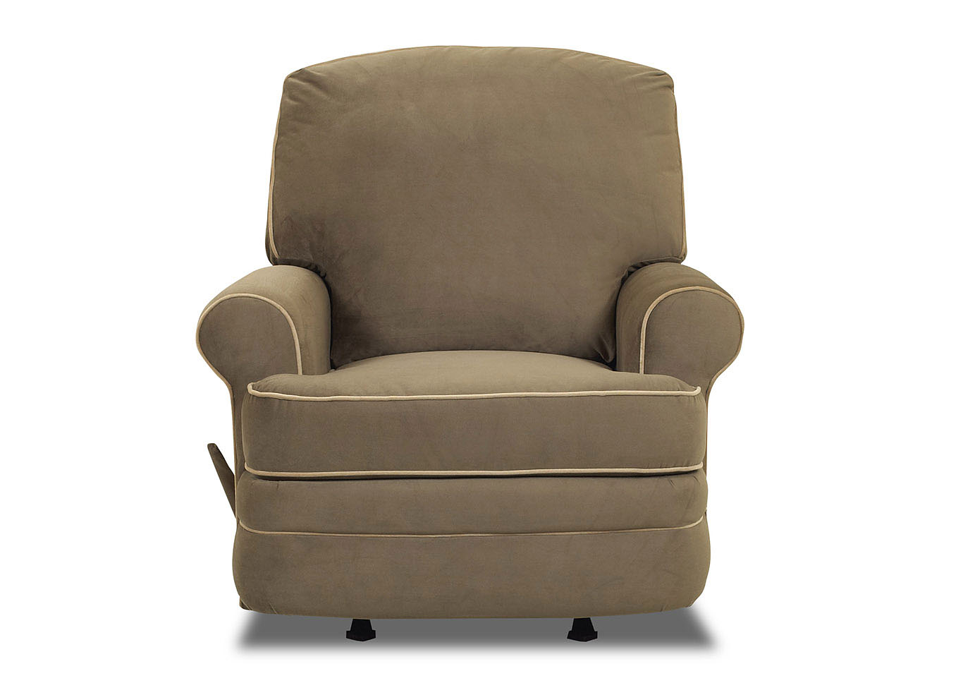 Belleview Reclining Fabric Chair,Klaussner Home Furnishings