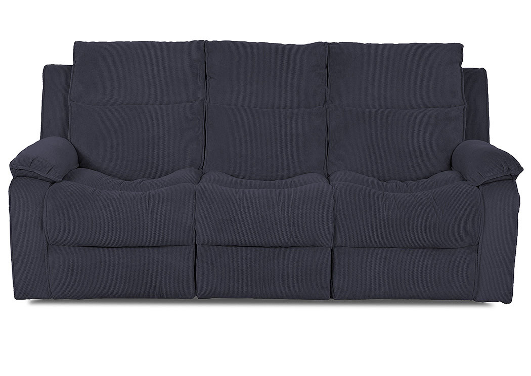 Castaway Viper Coastal Power Reclining Leather Sofa,Klaussner Home Furnishings