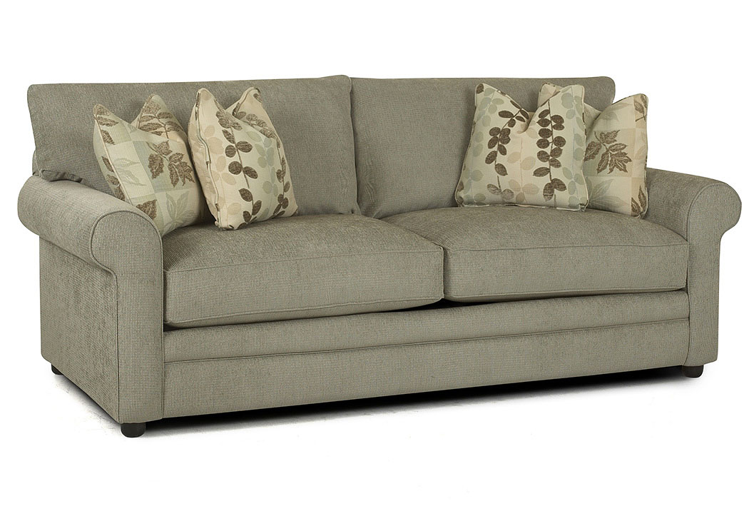 Comfy Mist Stationary Fabric Sofa,Klaussner Home Furnishings