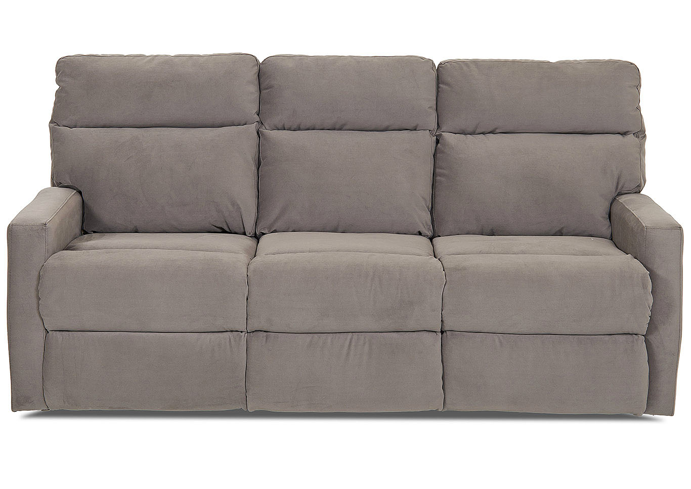 Monticello Reclining Leather Sofa,Klaussner Home Furnishings