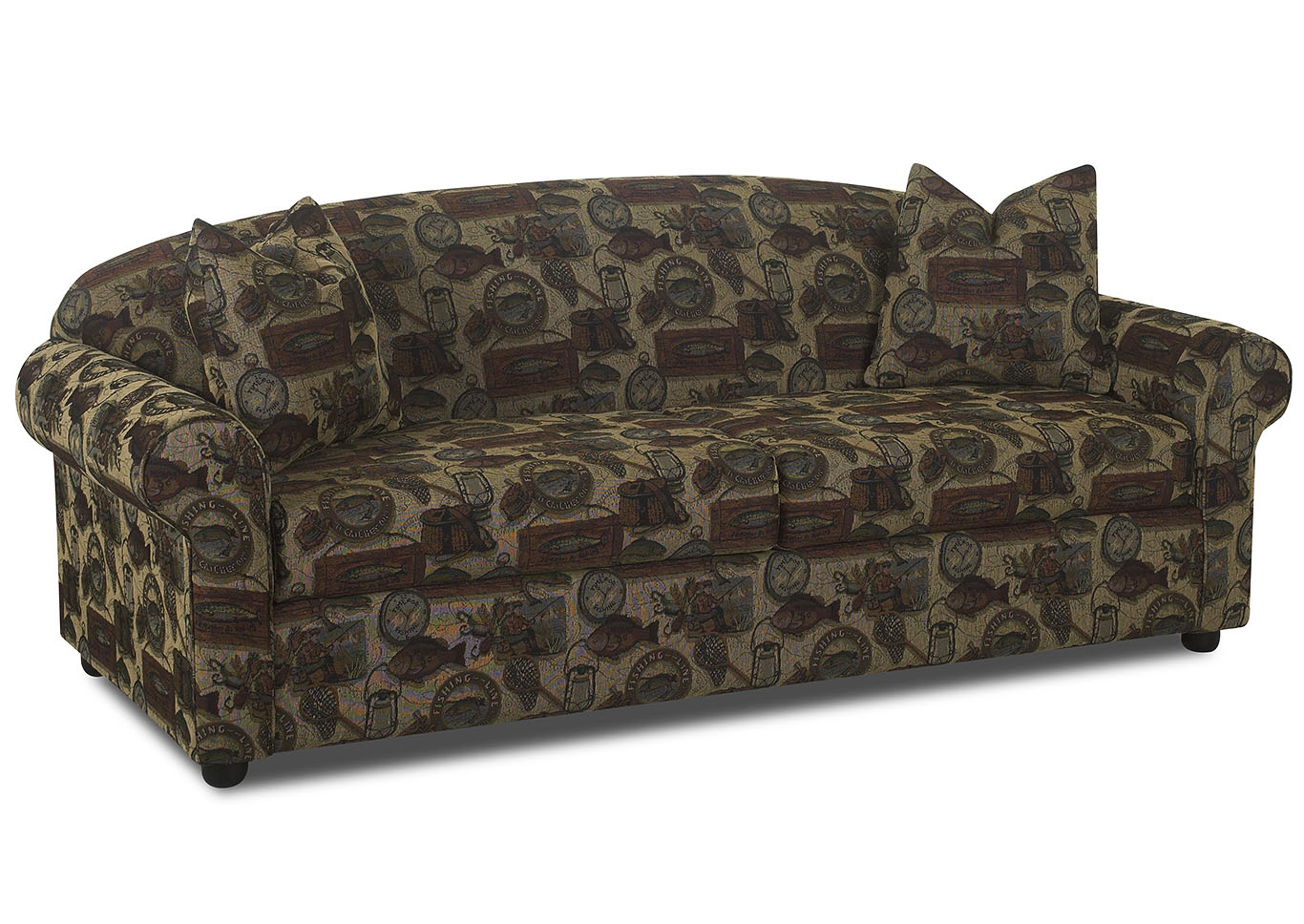Possibilities Multi-Colored Stationary Fabric Sofa,Klaussner Home Furnishings