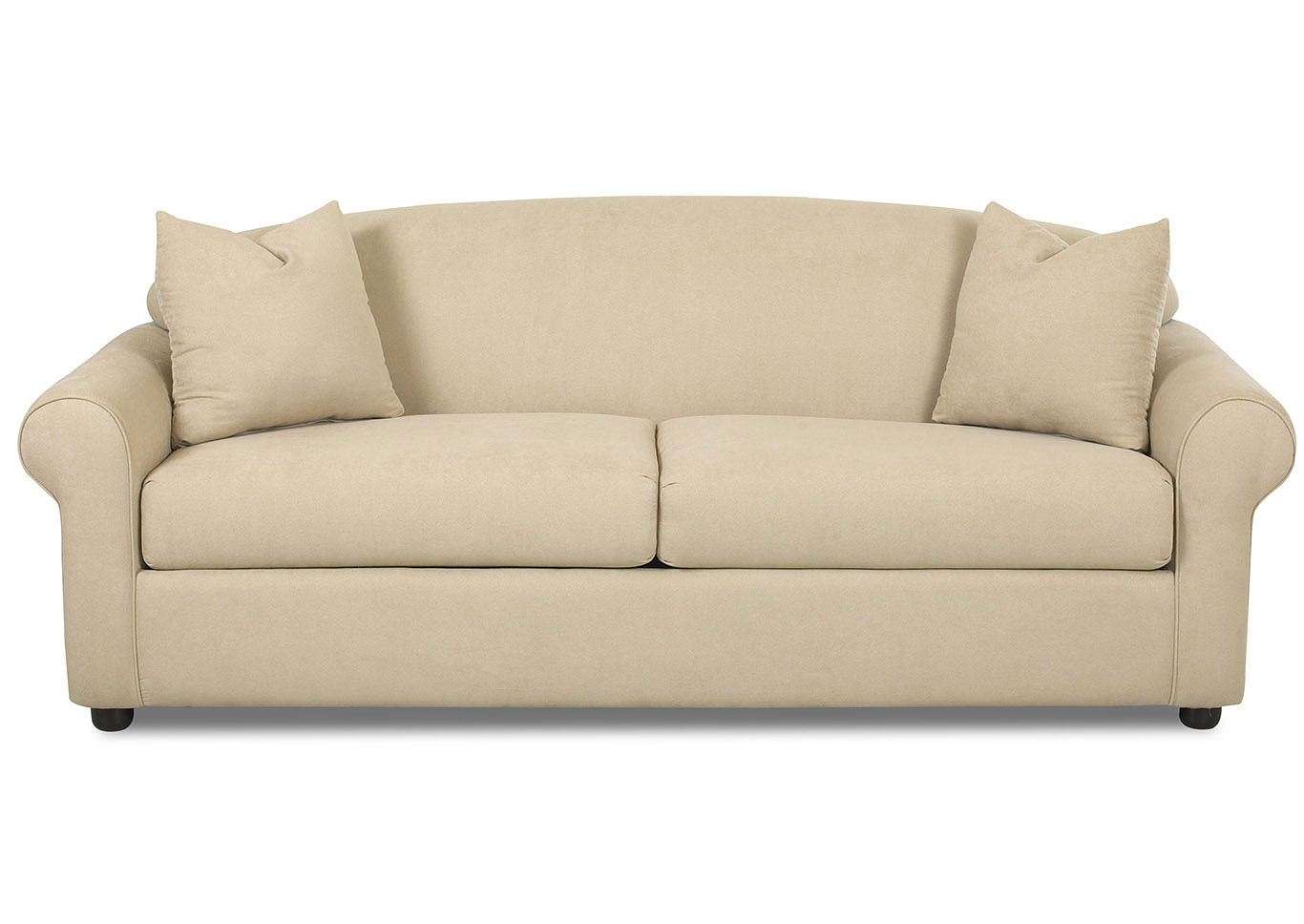 Possibilities Wheat Stationary Fabric Sofa,Klaussner Home Furnishings