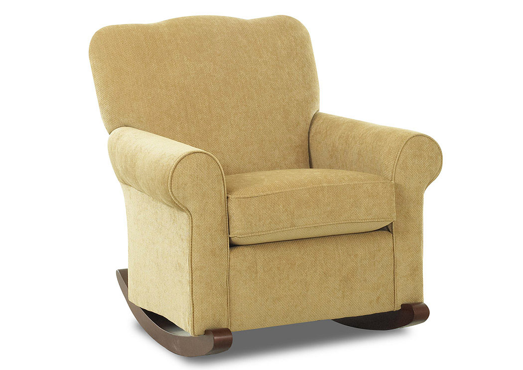 Picture of: Old Town Tan Fabric Rocking Chair Signature Furniture Nj