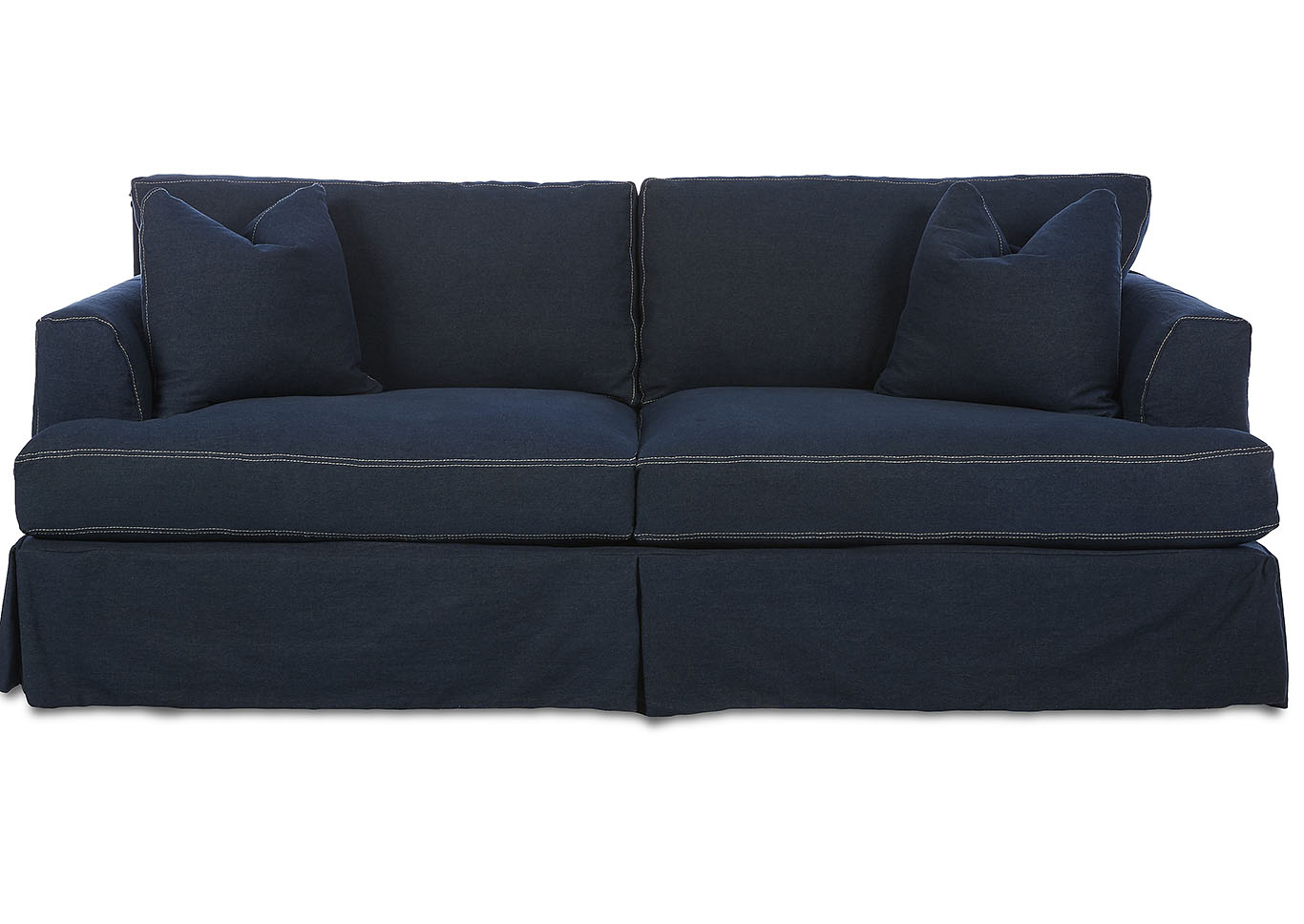 Bentley Classic Melrose Stationary Fabric Sofa,Klaussner Home Furnishings