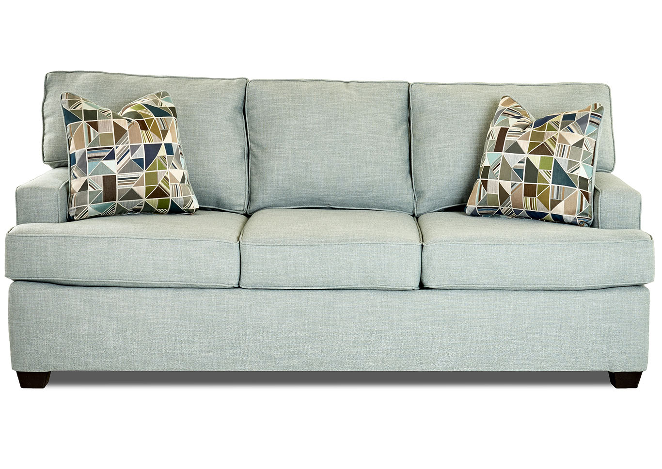 Cruze Conversation-Capri Stationary Fabric Sofa,Klaussner Home Furnishings
