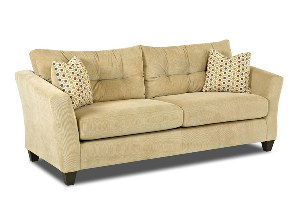 Flair Sand Sofa,Klaussner Home Furnishings