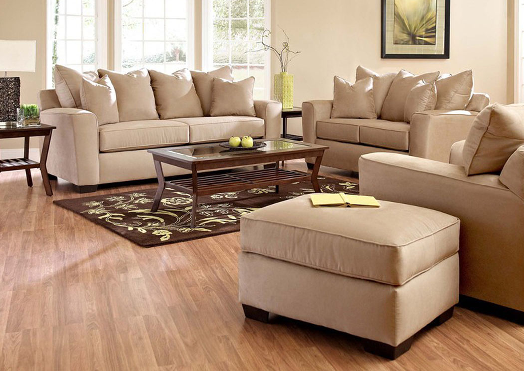 Heather Khaki Sofa,Klaussner Home Furnishings