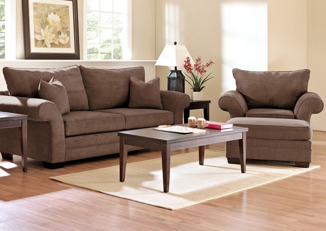 Holly Java Sofa,Klaussner Home Furnishings