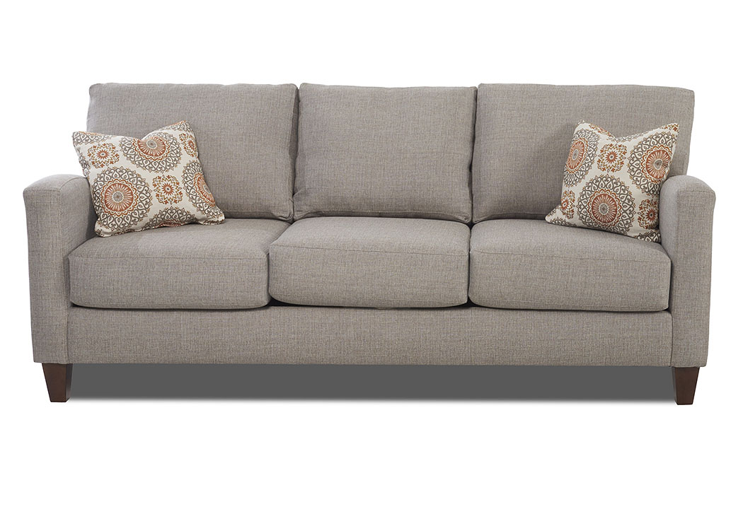 Colleen Gray Stationary Fabric Sofa,Klaussner Home Furnishings