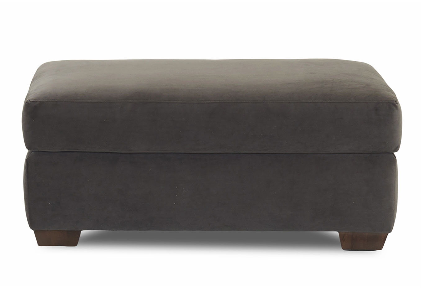 Newport Stationary Fabric Ottoman,Klaussner Home Furnishings